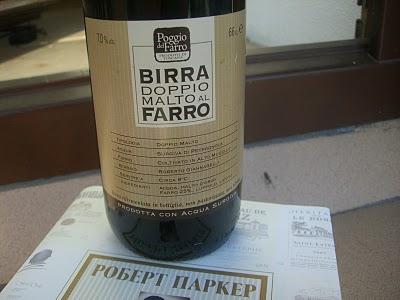 Рекомендую. upd.  Итальянское пиво из ячменя и полбы.